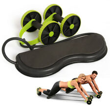 Pull Rope Weight reducing AB Roller Wheel Abdominal Workout Exercise Fitness Gym
