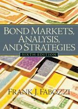 Bond Markets, Analysis and Strategies (6th Edition)