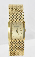 Men's Wittnauer 11A00 Metropolitan Gold Plated Stainless Gold Dial Date Watch