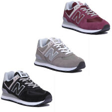 New Balance ML574EGK Vintage Classic Women Miscellaneous Black Trainers Size 4-7