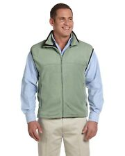 Chestnut Hill Men's Vest Microfleece Jacket Solid CH905 Green XL More Size/Colrs