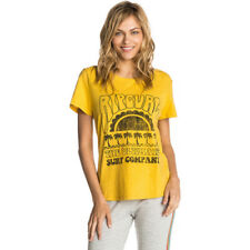Rip Curl Coral Bay Womens T-shirt - Yellow All Sizes