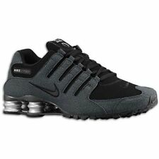 Nike Mens Shox NZ EU Running Shoes, Black
