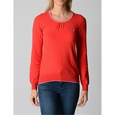 Fred Perry Womens Sweater 31412114 0034, Red