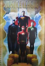 Justice League Of America -Podium- Poster-Laminated Available-90cm x 60cm-Bra...