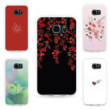 Flower Series Phone Case Cover for Samsung Galaxy S8 S8 Plus S6 Edge Gracious