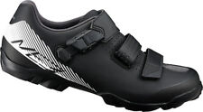 Shimano ME3 SPD MTB Bike Shoes Black/White