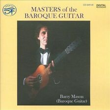 Masters of the Baroque Guitar, New Music