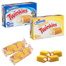 Hostess Twinkies Box of 10 Individual Packed Sponge Cake American Candy Sweets