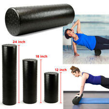 Black Extra Fitness Trigger Point Foam Roller High Density Yoga Muscle Massage