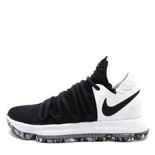 Nike Zoom KD10 X EP [897816-008] Men Basketball Shoes Kevin Durant Black/White