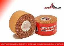 Physio Pack - 5 Rolls Rigid Strapping Tape + 1 Roll Kinesiology Tape