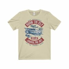 Bella+Canvas Born to Fly Unisex Jersey Tee