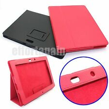 Leather Folio Stand Case Cover For ASUS PAD Transformer Prime TF700 TF201 IN US