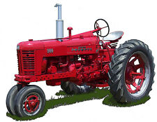International Harvester Farmall 300 farm tractor  Richard Browne canvas print