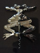 The Leaping Frog Collectible Vintage Bar-ware Chrome Corkscrew Wine Opener