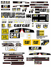 1:16 DECALS FOR DIECAST CATERPILLER FARM TRACTORS & DIORAMA