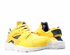 Nike Huarache Run (PS) Yellow/Anthra-Wht Little Kids Running Shoes 704949-700