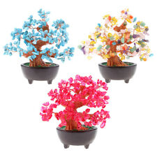MagiDeal Natural Crystal Money Tree Feng Shui Home Decor for Bring Wealth