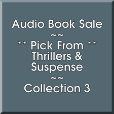 Audio Book Sale: Thrillers & Suspense (3) - Pick what you want to save
