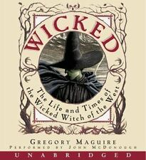 WICKED The Life and Times... UNABRIDGED AUDIO BOOK GREGORY MAGUIRE 16 CDs