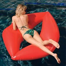 Giant Inflatable Red Lips Lilo, Red Lips pool float. Inflatable Pool Float Toys