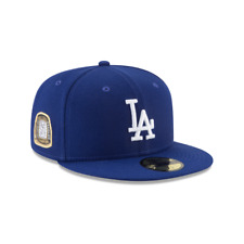 Los Angeles LA Dodgers New Era MLB Title Trim 59FIFTY Fitted Cap Hat