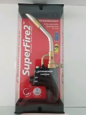 rothenberger superfire 2 fully adjustable brazing torch heat plumbing gas torch
