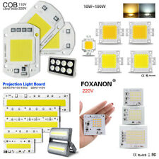 10-150W LED Floodlight COB Chip High Power SMD LED Chip Lamp Bulb Bead 110V 220V
