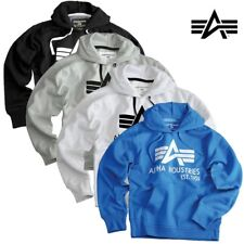 Alpha Industries Men's Pullover Hoody Big a Classic Men Sweater Hoody