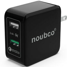 Dual USB Wall Charger Quick Charge 3.0