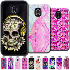 For Samsung Galaxy 2-in-1 Painted Skin Shockproof Hybrid Rubber Hard Cover Case