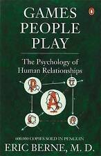 Games People Play: The Psychology of Human Relationsh... | Book | condition good