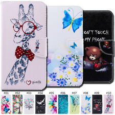 PU Leather Wallet Painted Stand Case Cover For Xiaomi Redmi Note 5/Note 5 Pro