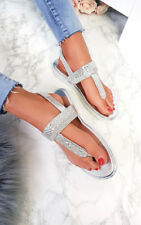 IKRUSH Womens Maddie Embellished Sandals