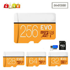 Micro SD Card 32GB 64G 128G 256G Class10 80MB/S SDHC SDXC Flash Memory TF Cards