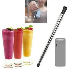 Collapsible Reusable Portable Stainless Straw Travel Outdoor Household Drinking