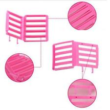 3pcs DIY Magic Hair Styling Roller Plastic plate hair clips Curler Tools ze