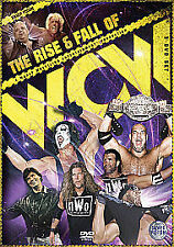 The Rise And Fall Of WCW (DVD, 2010, 3-Disc Set) WWF WCW ECW ROH TNA