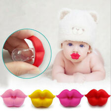 Baby Infant Silicone Pacifier Kiss Lips Dummy Pacifier  Nippls Teether Soother