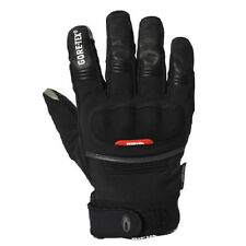 Richa City Gore-Tex GTX Motorcycle Waterproof Leather Breathable Gloves - Black