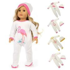 Trendy Rompers Jumpsuit Hat Outfit for American Girl Our Generation My Life Doll