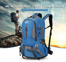 40L Travel Waterproof Camping Outdoor Climb Backpack Hiking Sports Daypack Bag
