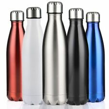 Water Bottle Vacuum Flask Stainless Steel Thermos Double-Wall 350/500/750/1000ml