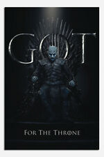 Laminated Game Of Thrones The Night King For The Throne Poster