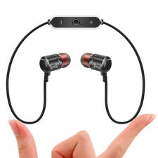 Sport Bluetooth Headphones Neckband Headset Wireless Stereo Bass Earphones Mic