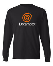 DREAMCAST Cool Retro SEGA Video Game Logo Long Sleeve shirts Good Quality Tees