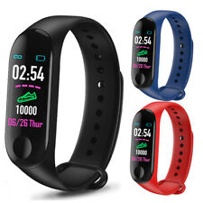Smart Bracelet Heart Rate Blood Pressure Monitor Watch Wristband For iOS Android