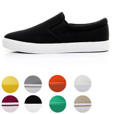Mens Womens Canvas Shoes Casual Classic Skool Skate Low Top Athletic Sneakers