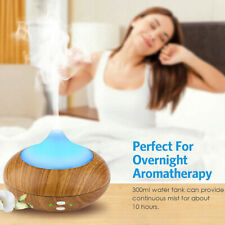 Ultrasonic Aroma Humidifier Air Aromatherapy Essential Oil Diffuser 7 Colors LED